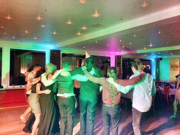 DJ für Hochzeitsfeier in Rosengarten