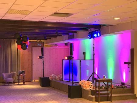 Ambientebeleuchtung - Uplighting Akku LED