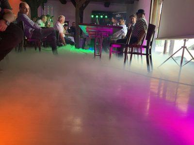 2. DJ Meeting in Amelinghausen - Chauvet DJ Vorstellung Bodennebelmaschine