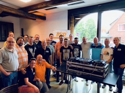 3. DJ Meeting in Amelinghausen - Teilnehmer des DJ Treffens