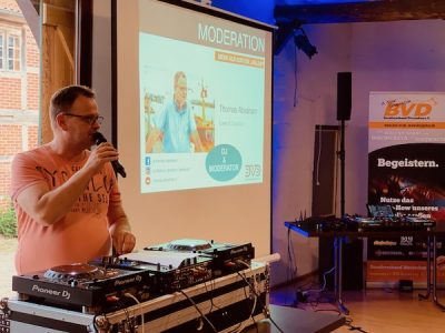 3. DJ Meeting in Amelinghausen - Moderation mit Thomas Abraham