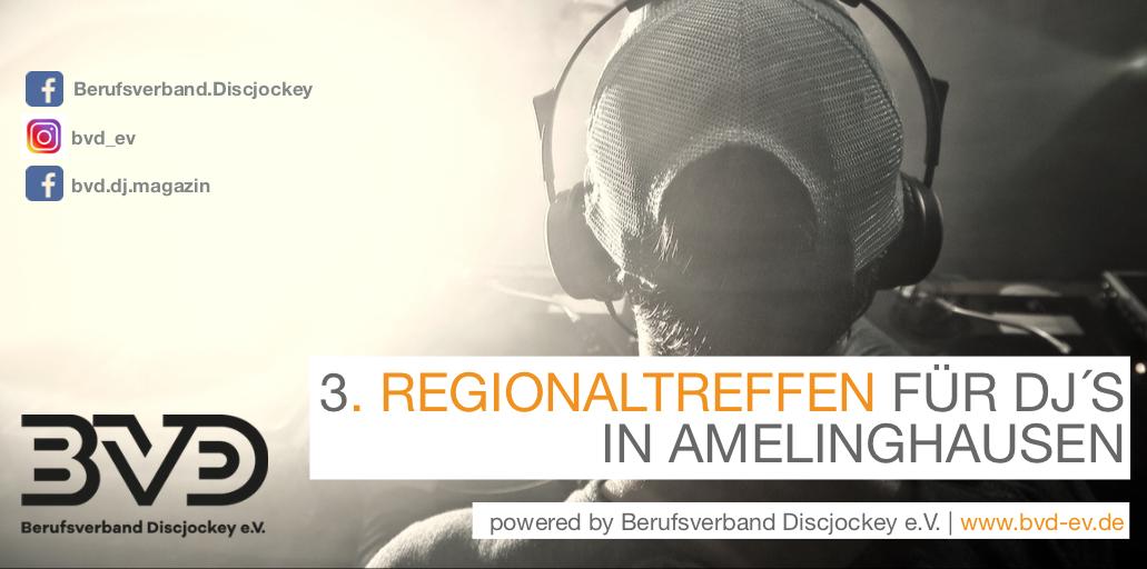 Regionaltreffen für Discjockey in Amelinghausen