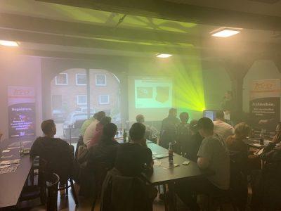 4. DJ Meeting in Amelinghausen - Lichttechnik von Chauvet DJ
